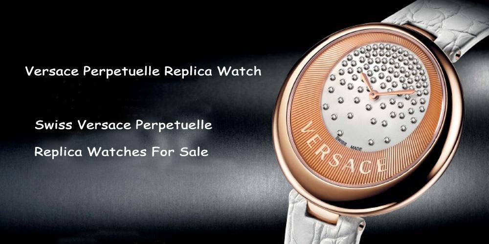 Swiss Versace Perpetuelle Replica Watch